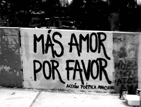 'Meer liefde alsjeblieft'