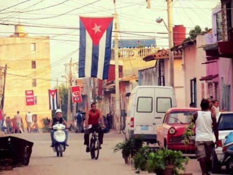 Straatbeeld Trinidad Cuba. Foto: Yonina Pullens