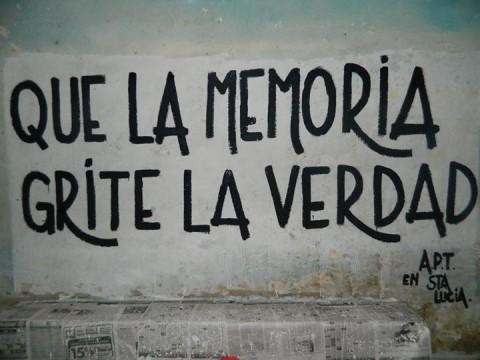 'Dat de herinnering de waarheid schreeuwt'