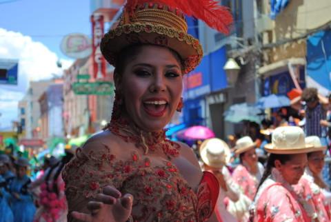 Carnaval van Oruro, Bolivia, dat door de UNESCO erkend is als cultureel en humanitair patrimonium. Foto: Kathrine Dalsgaard