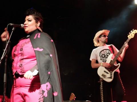 Reina Avila van Mariachi reloaded, Openluchttheater Deurne, Antwerpen 2015 - Foto: Lisa Couderé