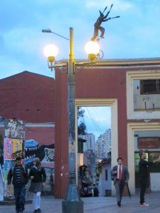 Bogotá bij het vallen van de avond - Foto: Lisa Couderé