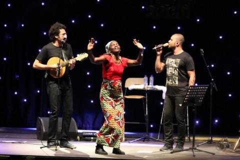 Bossa Negra op Sfinks Mixed 2015, Boehout, België - Foto: Fred Polet