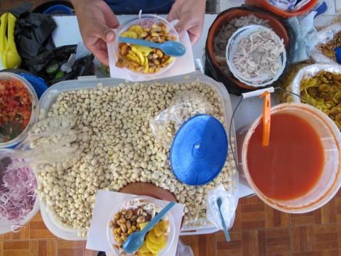 cevichocho en Cotacachi, Ecuador - Foto: Lisa Couderé