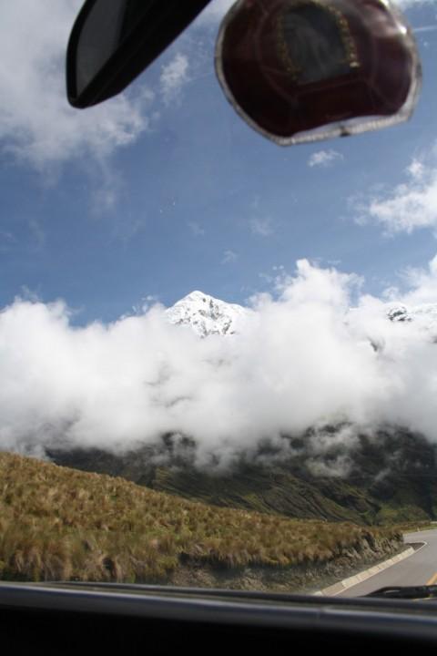 Onderweg van Cusco naar Santa Maria - Foto: Javier
