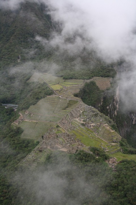 Uitzicht vanop de Huayna Picchuberg - Foto: Javier Perugachi
