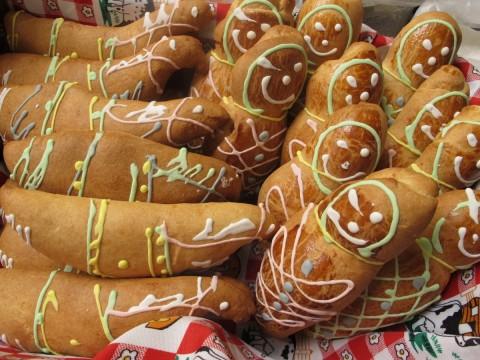 guaguas de pan para el dia de los muertos,Ecuador - Foto: Lisa Couderé