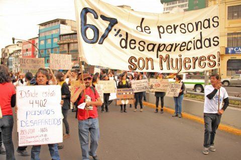 Familiares de ASFADEC resaltan el espeluznante dato: 67% de desaparecidos son mujeres.