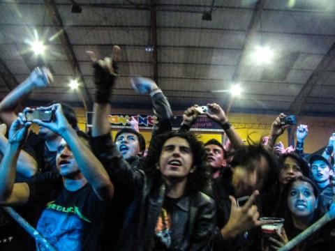 concert Basca, festival San Antonio Rock, juli 2013 - Foto: Javier Perugachi